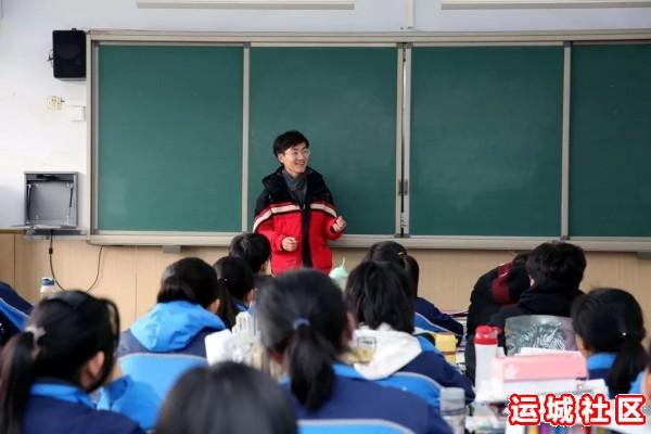 河南11选5遗漏号码中学2019届优秀毕业生代表回母校为高三学子宣讲1