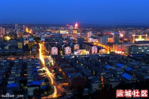 河津夜景图