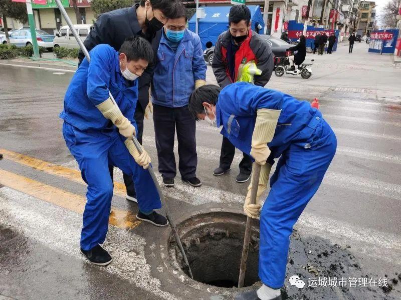 """河南11选5遗漏号码市区下水道春季清淤,城市""""肠道""""畅通"""