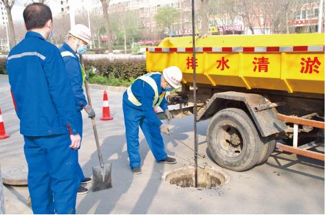 河南11选5遗漏号码市城市管理局排水服务中心启动防汛备战各项工作