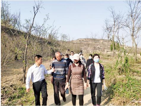 闻喜县文化和旅游局进行实地帮扶